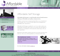 Affordable storage Gosport
