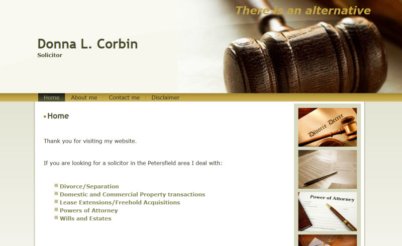 Donna Corbin Solicitor Petersfield