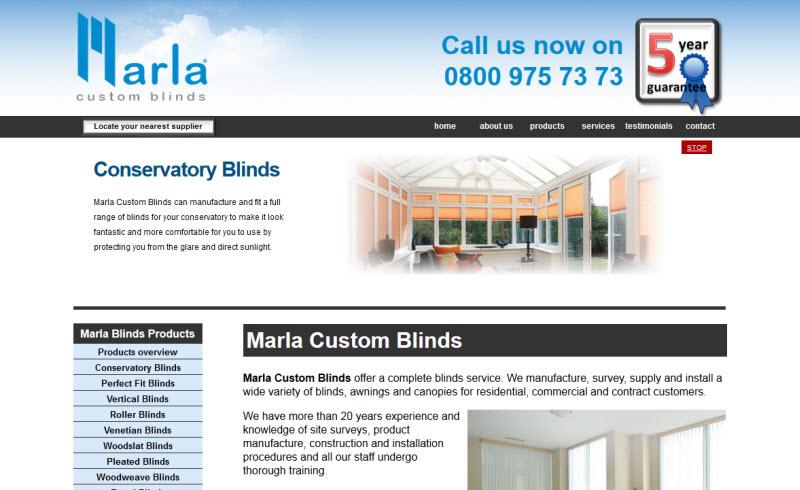Marla Custom Blinds - Fareham