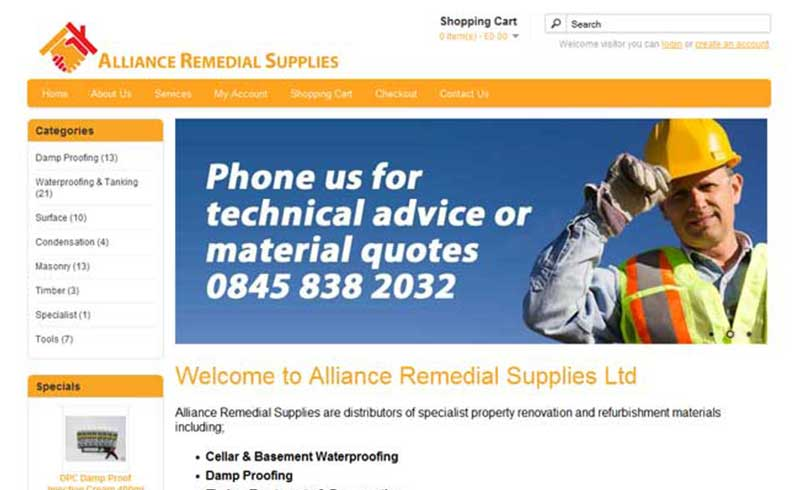 Alliance Remedial Supplies Gosport