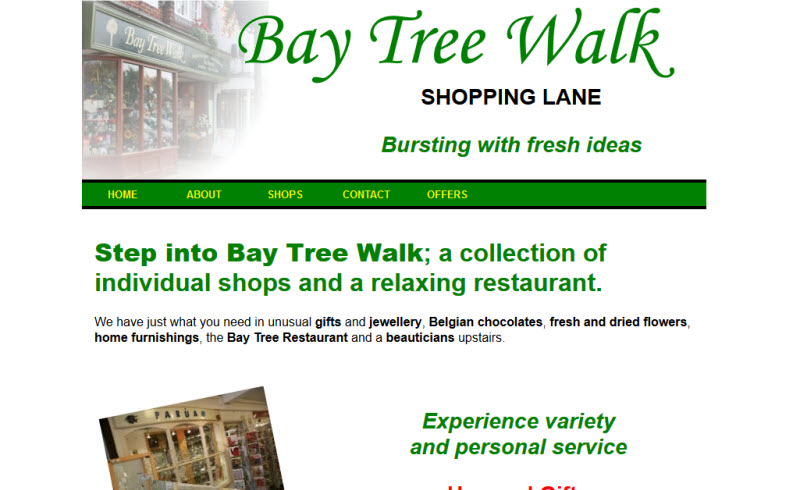 Bay Tree Walk