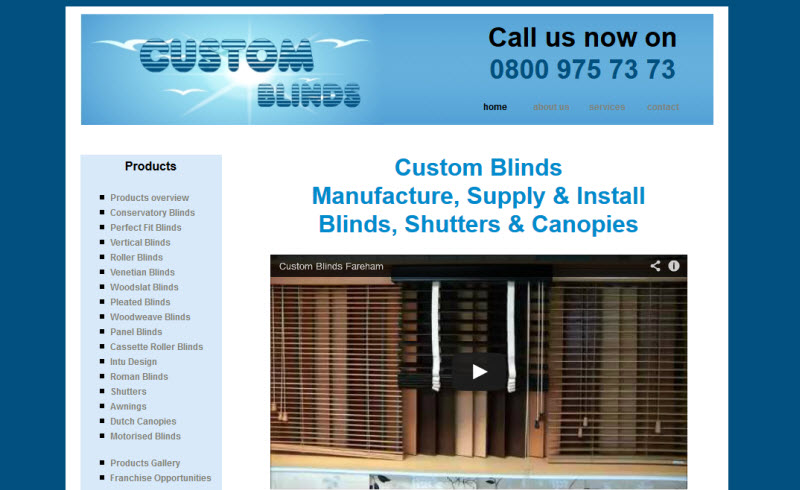 Custom Blinds - Fareham