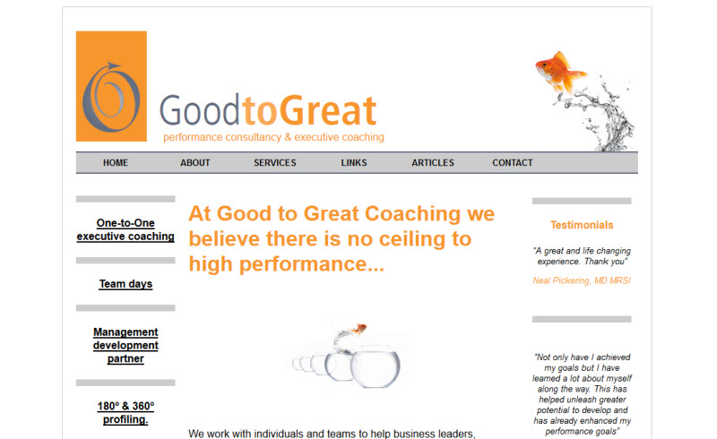 Good to great coaching - Hampshire