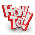 how to ...
