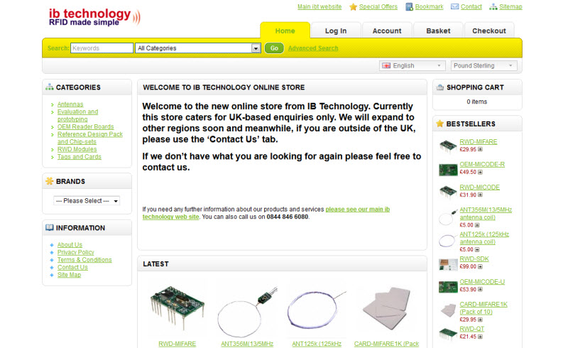Ibt On-line Store - Buyrfid
