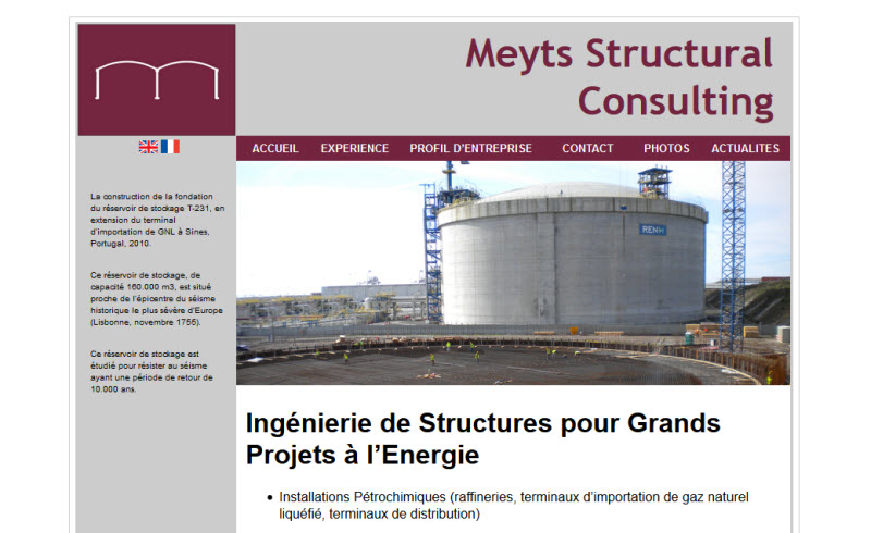 Meyts Structural Consulting (French Site)