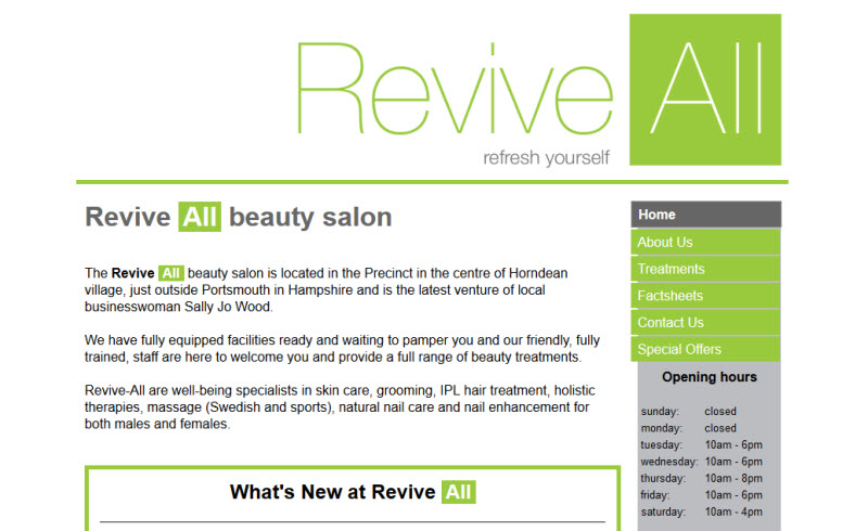 Revive All Beauty Salon