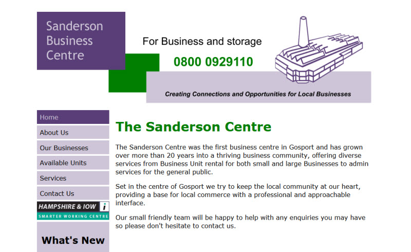 The Sanderson Centre