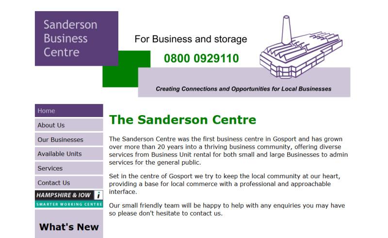 Sanderson Centre Gosport