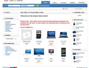 Scalar Enterprises e-commerce solutions