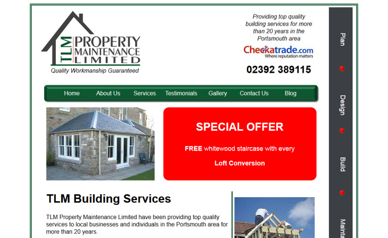 TLM Property Maintence - Portsmouth
