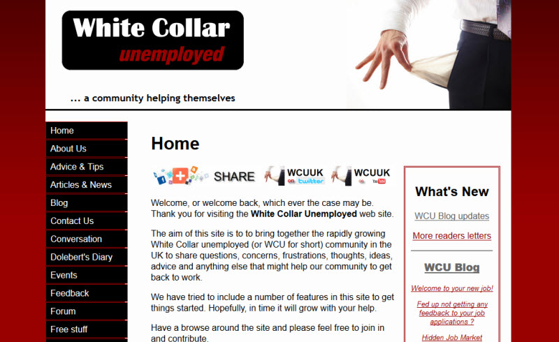 White Collar Unemployed