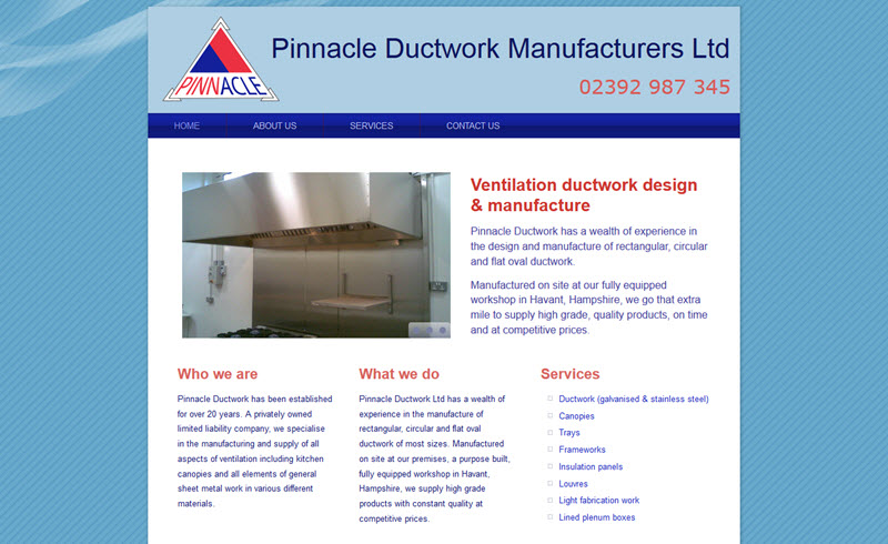 Pinnacle Ductworks Manufacturers