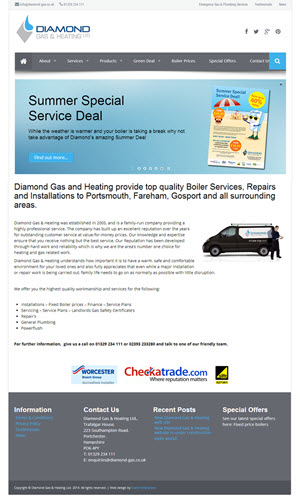 Diamond Gas & Heating - Fareham