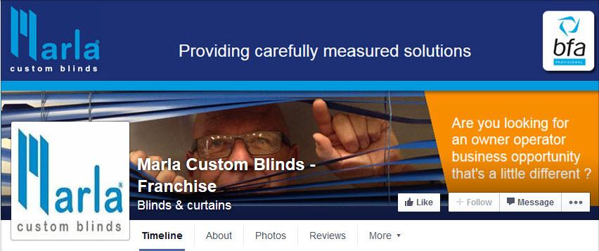 Custom facebook banner image