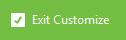 Firefox exit customise icon