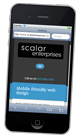 mobile friendly web design - Scalar Enterprises