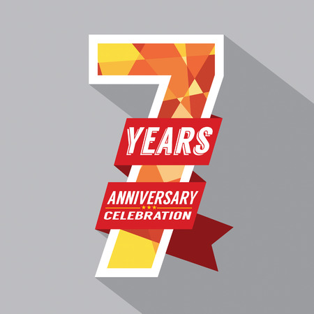 29757857 – 7th Years Anniversary Celebration Design