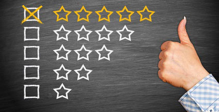 Online Reviews - 5 Stars