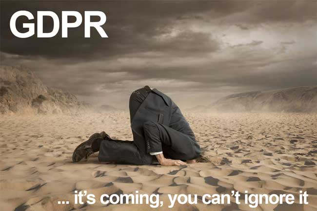 GDPR Is Coming, You Can't Ignore It