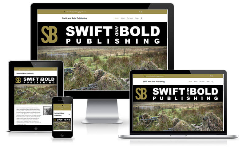 swift & bold publishing - history of the British Sniper