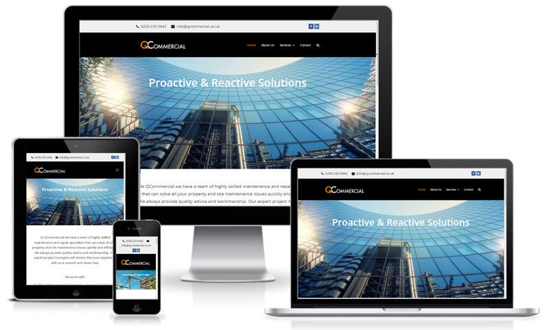 Q Commercial Services Screenshot
