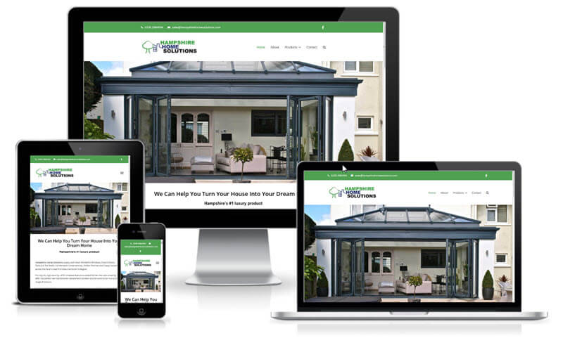 Hampshire Home Solutions screenshot