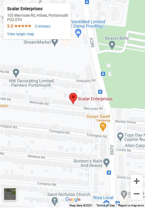 Scalar Enterprises location map image